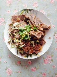 家常菜凉拌牛肉
