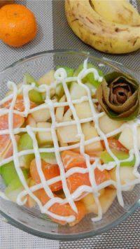 营养的水果沙拉