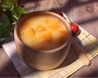 美味的南瓜小米粥