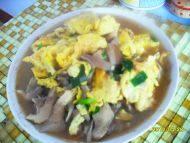 蘑菇炒鸡蛋自制