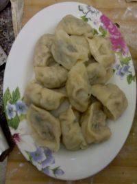 鲜香的芹菜猪肉水饺