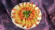 自己做的蒜蓉蒸虾