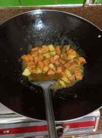 家常菜咖喱土豆