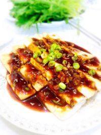 外婆做的铁板豆腐