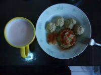 家庭式菠菜鸡蛋饼