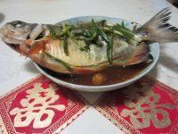 满口生香的清蒸金鲳鱼