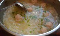 美味的萝卜丝丸子汤