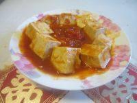 可口的茄汁豆腐