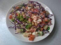 自制鸡蛋蔬菜沙拉
