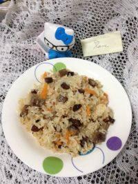 简单午餐新疆牛肉抓饭