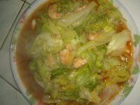 家常鲜虾大头菜