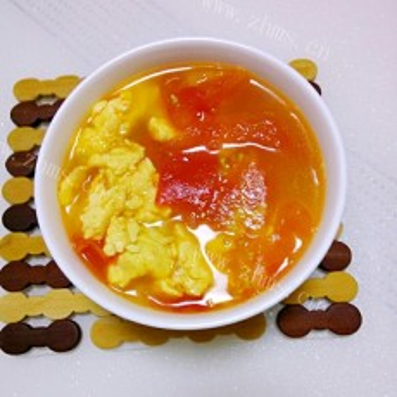 美味西红柿鸡蛋汤