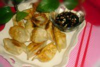 自己做的油煎饺子