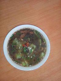 美味的丝瓜紫菜汤