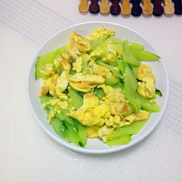 自制黄瓜炒鸡蛋
