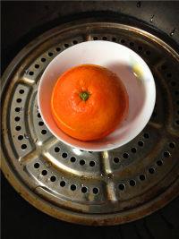 美味的盐蒸橙子