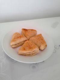 中式主食椒盐烧饼