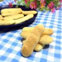 自制手指饼干