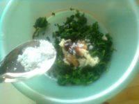 家常菜凉拌芹菜叶