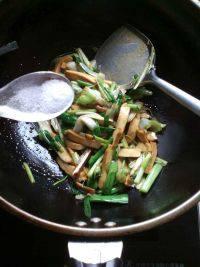 家常菜蒜苗炒豆干