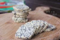 自制黑芝麻海苔饼干