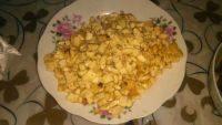 家常菜鸡刨豆腐