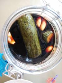 美味的酱黄瓜