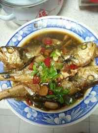 家常菜红烧黄鱼