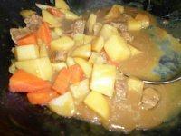 家常菜咖喱牛肉土豆