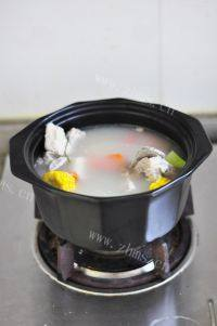 美味的田园蔬菜汤