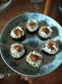 食欲满满的简单寿司