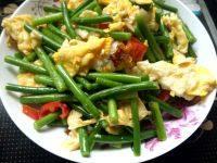 家常菜蒜苗炒鸡蛋
