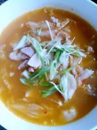 美味的泡菜汤