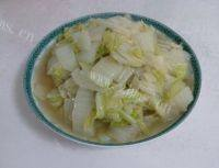 家常菜清炒白菜