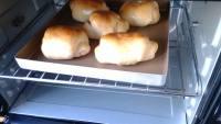 诱人的葡萄干面包