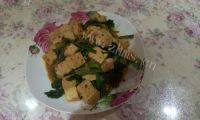 很有食欲的菠菜豆腐