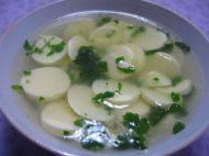 家常菜香菜豆腐汤