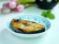 家常菜香煎马鲛鱼
