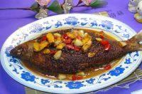 家常菜干烧鱼
