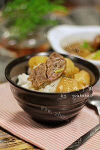 家常菜萝卜炖牛肉