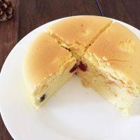 自制樱桃芝士蛋糕