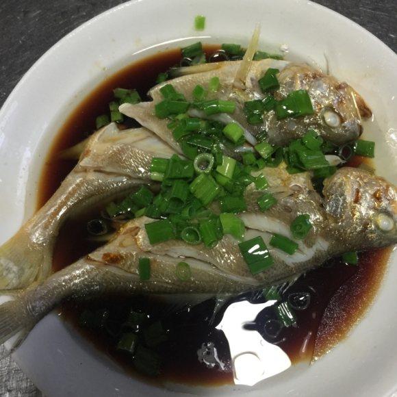 特下饭的清蒸小黄鱼