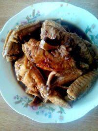 美味的炖鸡翅