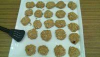 香脆的燕麦饼干