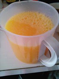 十分诱人的鲜橙汁