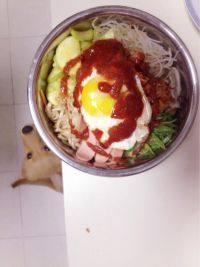 营养健康的韩式拌饭
