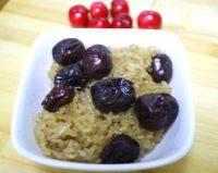 自己做的红枣糯米饭