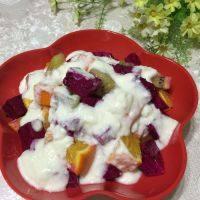 自制酸奶水果沙拉