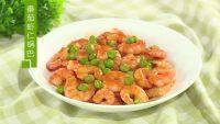 美味的番茄虾仁锅巴