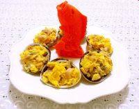家常菜大蛤炒鸡蛋